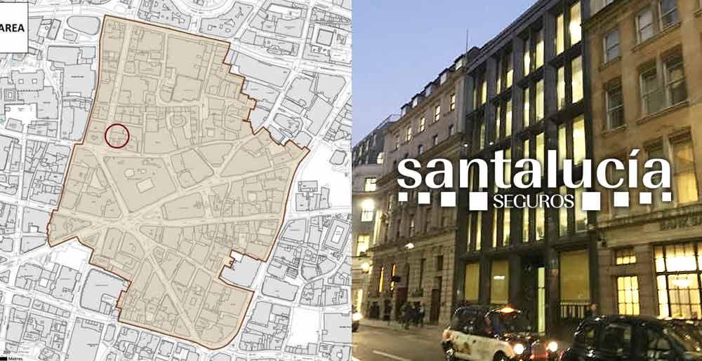 Caso de sucesso internacional da Gesvalt: avaliação de um imóvel no Reino Unido para a Santalucía